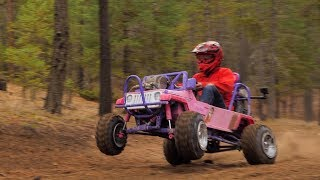 50HP Barbie Jeep Full Send!