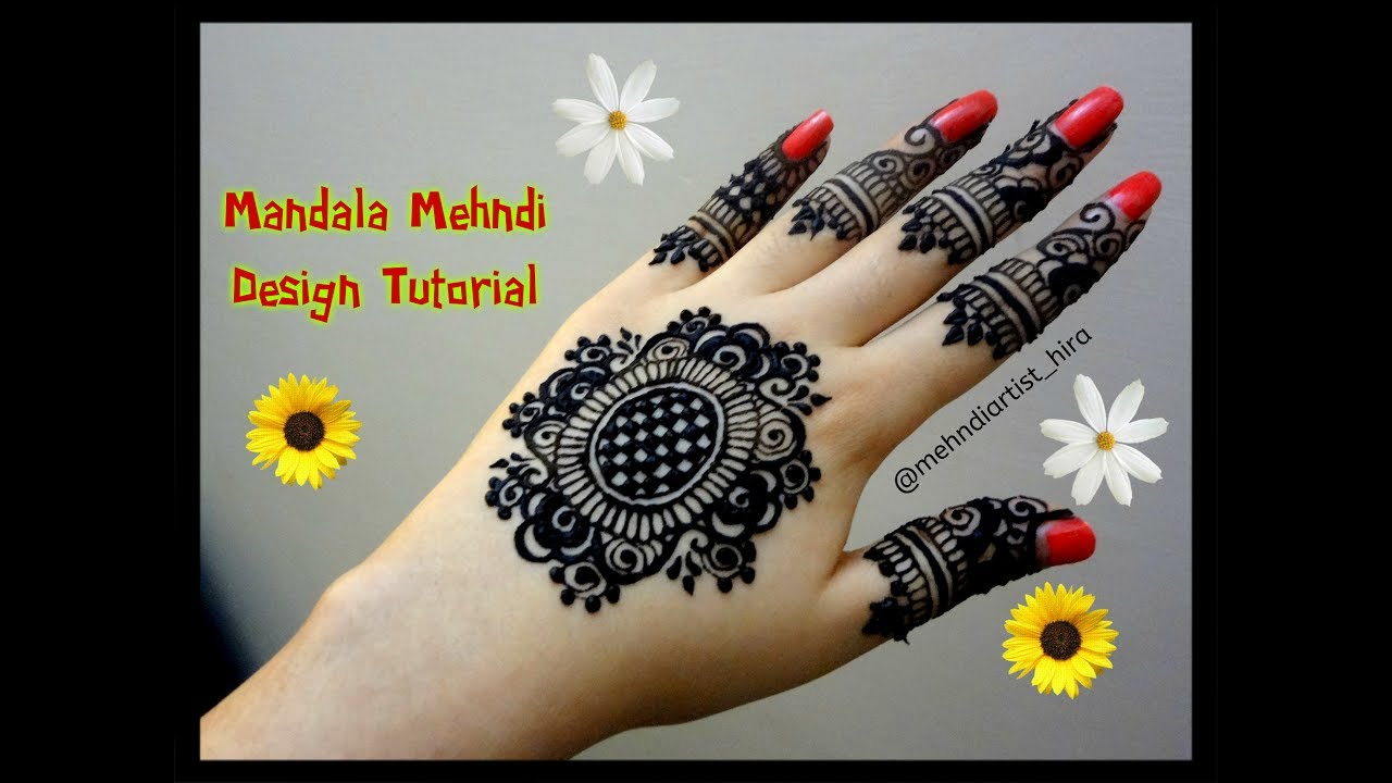 Mehndi For The Inspired Artist : Diy henna designs how to apply easy simple new mandala mehndi