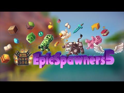 Epic Spawners Plugin | Minecraft Plugins 1.15