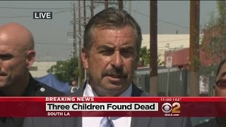 3 Young Boys Found Dead With Stab Wounds Inside Car In South LA