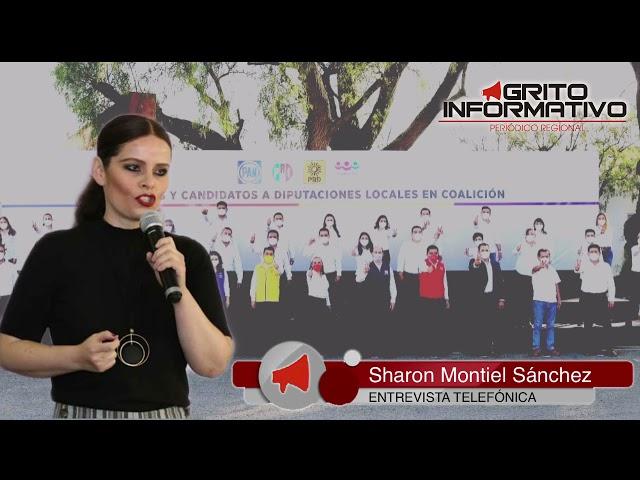 Entrevista con la Presidenta del Comité Directivo estatal del PESH, Sharon Montiel Sánchez