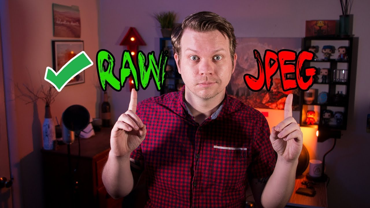 raw and jpeg difference