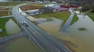 Livingston TN Dillon Pond Flood 2/20/19