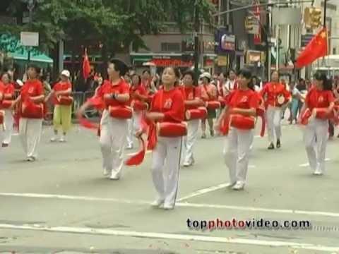 International Immigrants Parade in New York City Manhattan