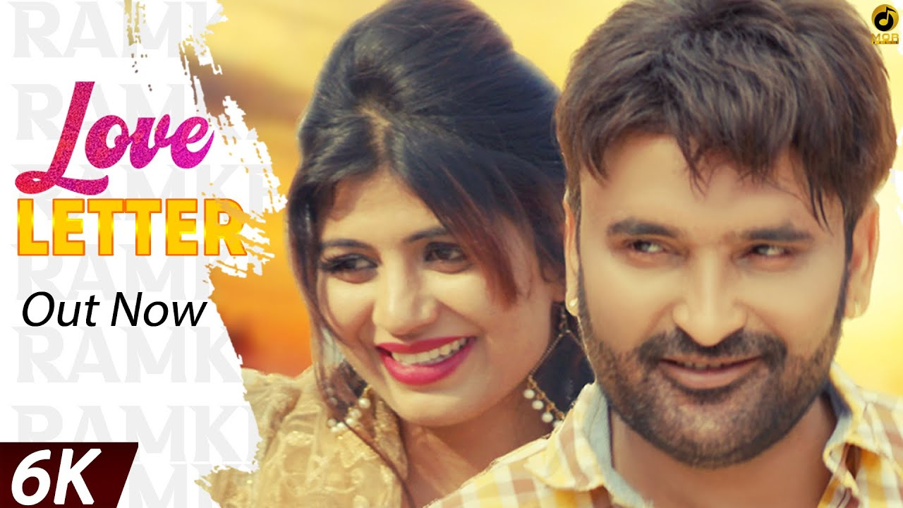Love Letter ❤️ || Ramkesh Jiwanpurwala ft. Sonika Singh || New Haryanvi Song 2020 || Mor Music