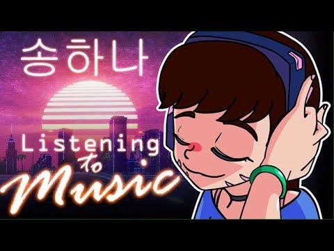 Hana Song Listening to D.va Vs Sombra Instrumental
