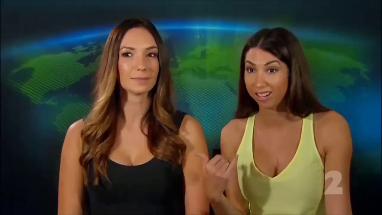 Download Inga and Tiharna from The Amazing Race Australias' hot ZOOTUBE shoot   ZOO Brunettes