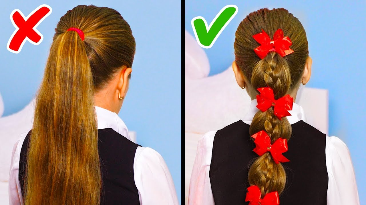 30 Back To School Hairstyles To Slay Your First Day