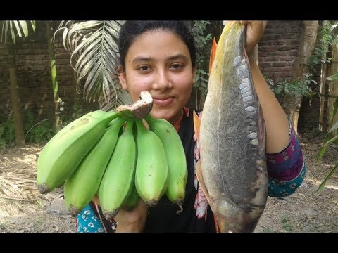 Fish and Green Banana Curry | Most Tasty and Healthy Easy Recipe | Cooking By Street Village Food