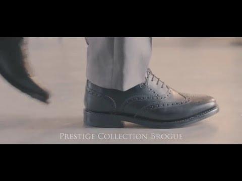 6652589c471d Prestige Brogue - Rubber Sole in Black from Samuel Windsor - YouTube