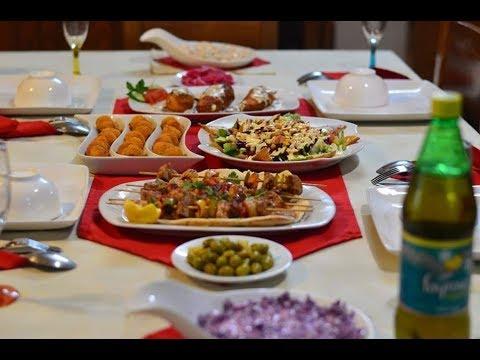 86aca457a اقتراح سفرة 5 لعزومة فخمة أو سفرة رمضانية - YouTube