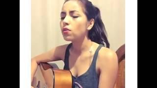 Daniela calvario | Cover| si tu te marchas