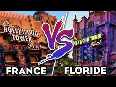 TOUR DE LA TERREUR EN FRANCE VS FLORIDE - DIS'BATTLE #1