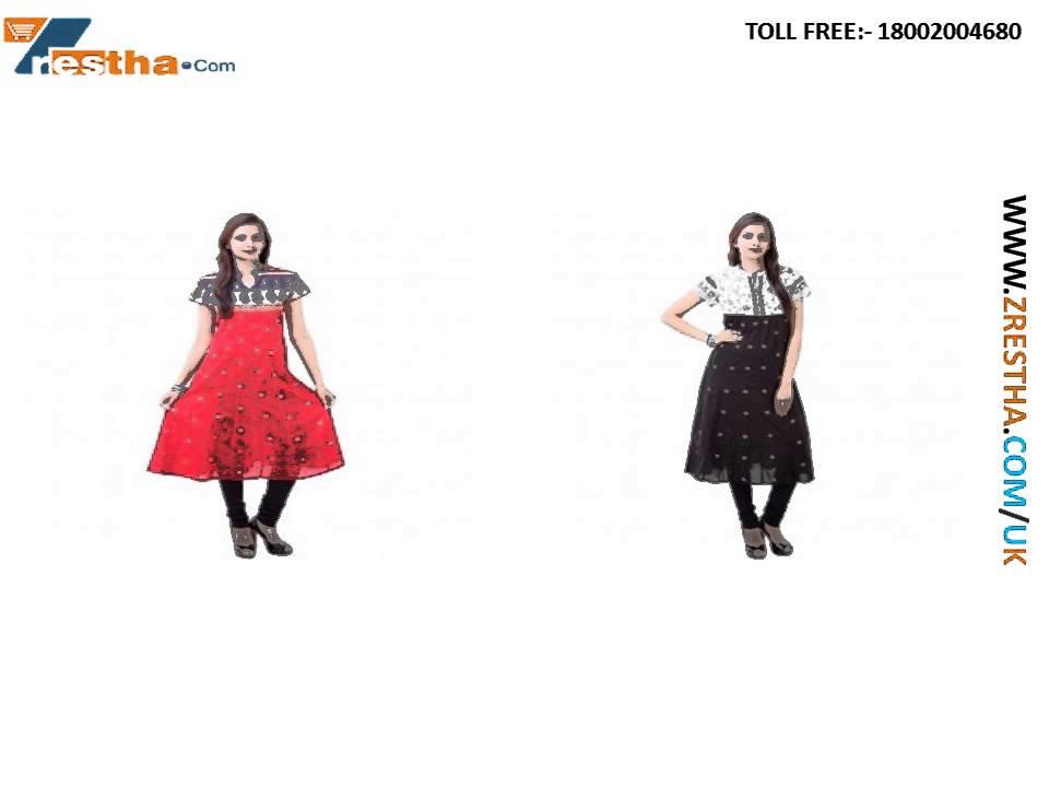 2703996d49 Womens Kurtis Online Shopping UK, Designer Kurti - YouTube