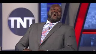 Chuck and Shaq couldn't stop laughing at the Rockets-Clippers locker room confrontation