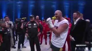 Tyson Fury Sings AEROSMITH