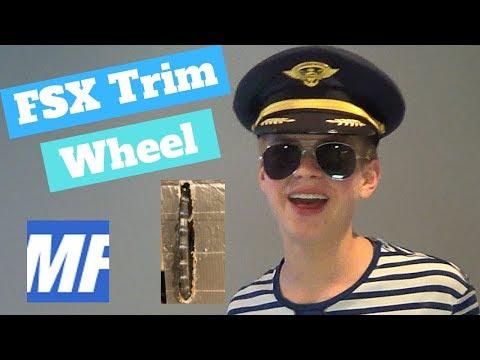 How to Make A Flight Simulator Trim Wheel with MobiFlight| Captain Bob