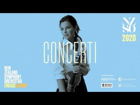 NZSO: Sibelius Violin Concerto With Janine Jansen