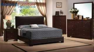 Coaster Conner Bedroom Set in BrownWalnut