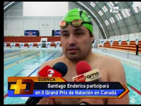 Santiago Enderica participará en II Grand Prix de Natación en Canadá