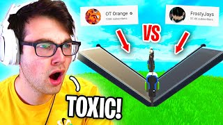 I Made My Trio 1v1 Each Other in Fortnite for CLOUT...  (toxic warning)