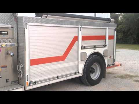 Poynor VFD - Poynor, Texas - Engine 5850 New Lighting