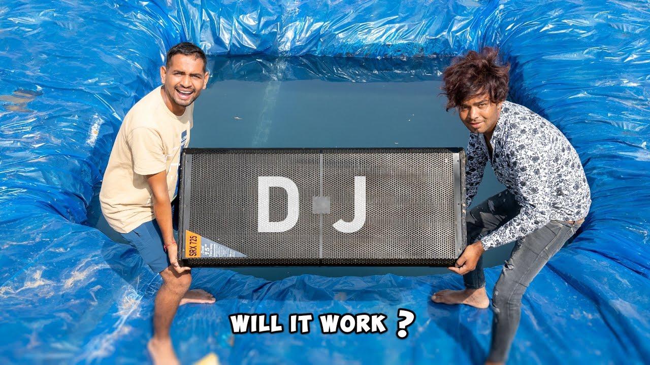 Will DJ Work Under Water ? - Experiment