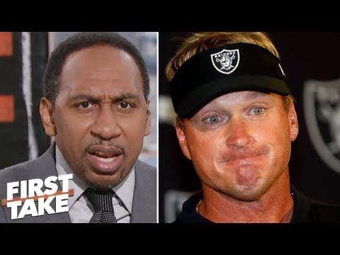 Stephen A. rips Jon Gruden for 'unforgivable' Khalil Mack trade | First Take