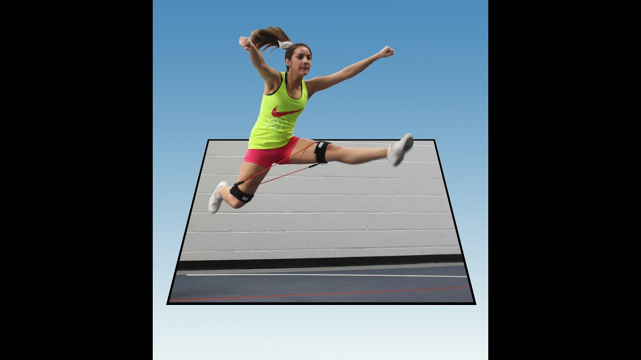 Workout Bands Youtube: Cheerleading Workout For Better Jumps And Stunts