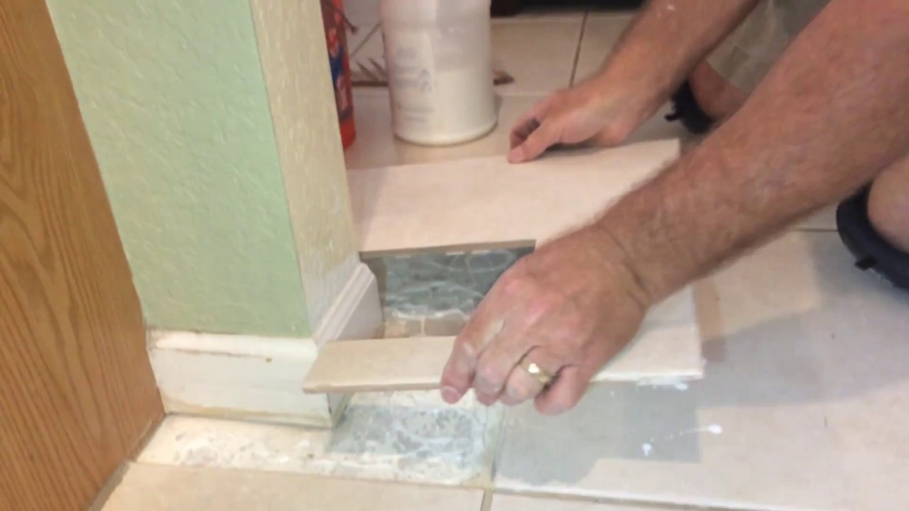 Re glue a loose tile with reptile adhesive youtube re glue a loose tile with reptile adhesive dailygadgetfo Image collections
