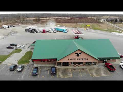 Little Drone flight at Eagle Express Truckstop and off to BNSF Corwith #162