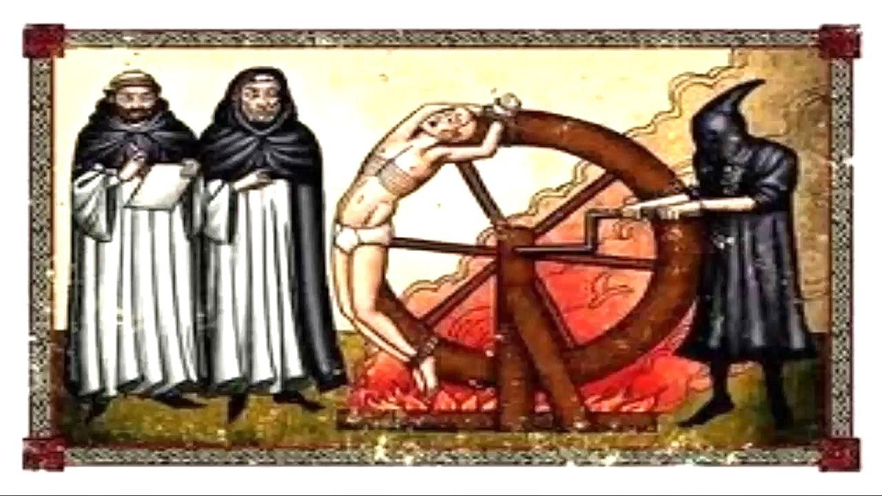 #CRMllmll- La Rueda De La Tortura Antigua