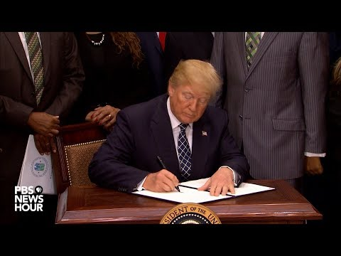 WATCH: President Trump signs proclamation recognizing Dr. Martin Luther King Jr. Day