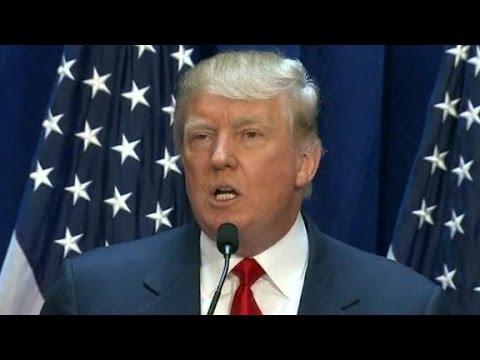 Donald Trump's best lines during his 2016 speech