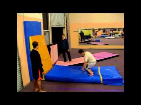 Gym Parkour feat. Rhett Spongberg & Jeremy Barker