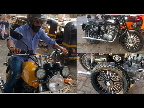 Royal Enfield Std 500 Upgrades and Service | GT | customised