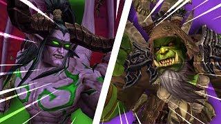 INSANE Warlock Vs Demon Hunter GOD! (1v1 Duels) - PvP WoW: Battle For Azeroth 8.1