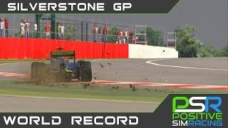 iRacing // Silverstone McLaren MP4-30 // 1:19.411 (WR)