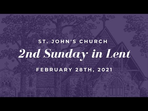 Online Worship - 2nd Sunday In Lent