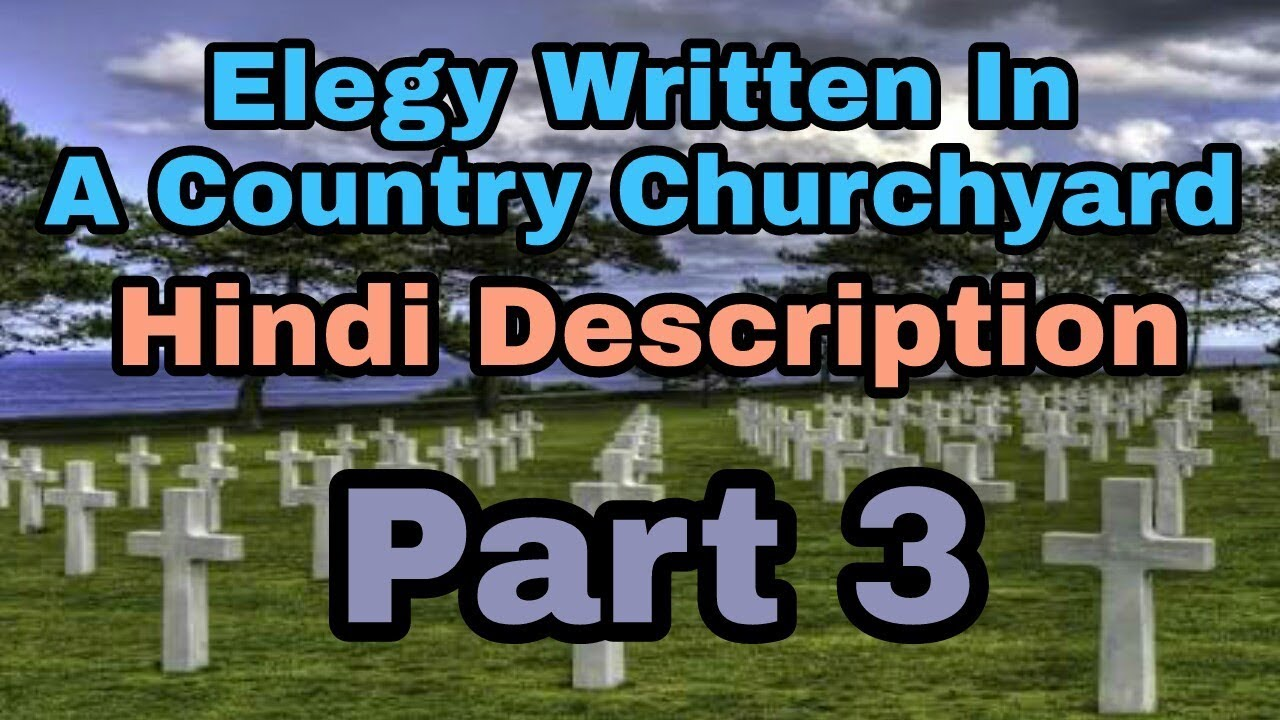 elegy written in a country churchyard questions and answers