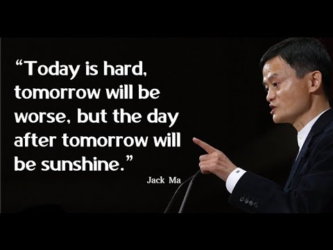Rejection to Success- Motivational Speech feat Jack Ma