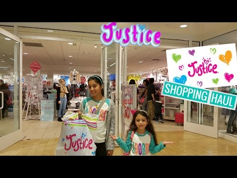 Justice Shopping Haul - Family Vlog