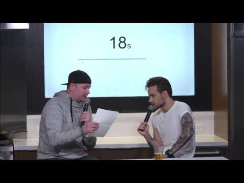 Liam Payne Reveals Favorite Body Part, Celebrity Crush During 96 Seconds With B96 Chicago