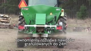 Rozsiewacz nawozów i wapna UPR 2