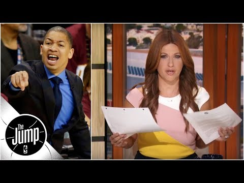 Rachel Nichols needs 'more than one sheet of paper' to list Cavaliers' problems  The Jump