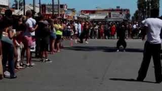 Street Performers flip - Venice Beach, California- Calypso Tumblers