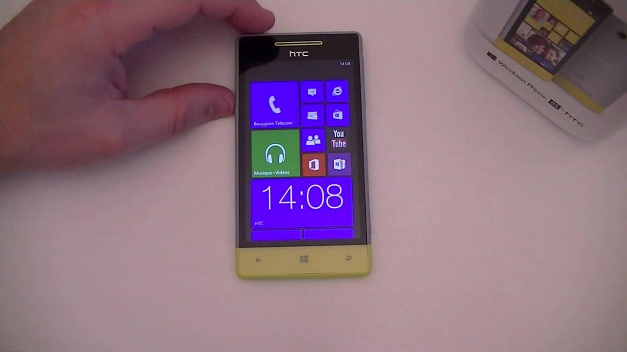 Htc windows phone 8x le est pictures - Test Du Htc 8s Par Top For Phone Fr