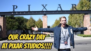 OUR CRAZY DAY AT PIXAR STUDIOS!! (Coco The Movie)