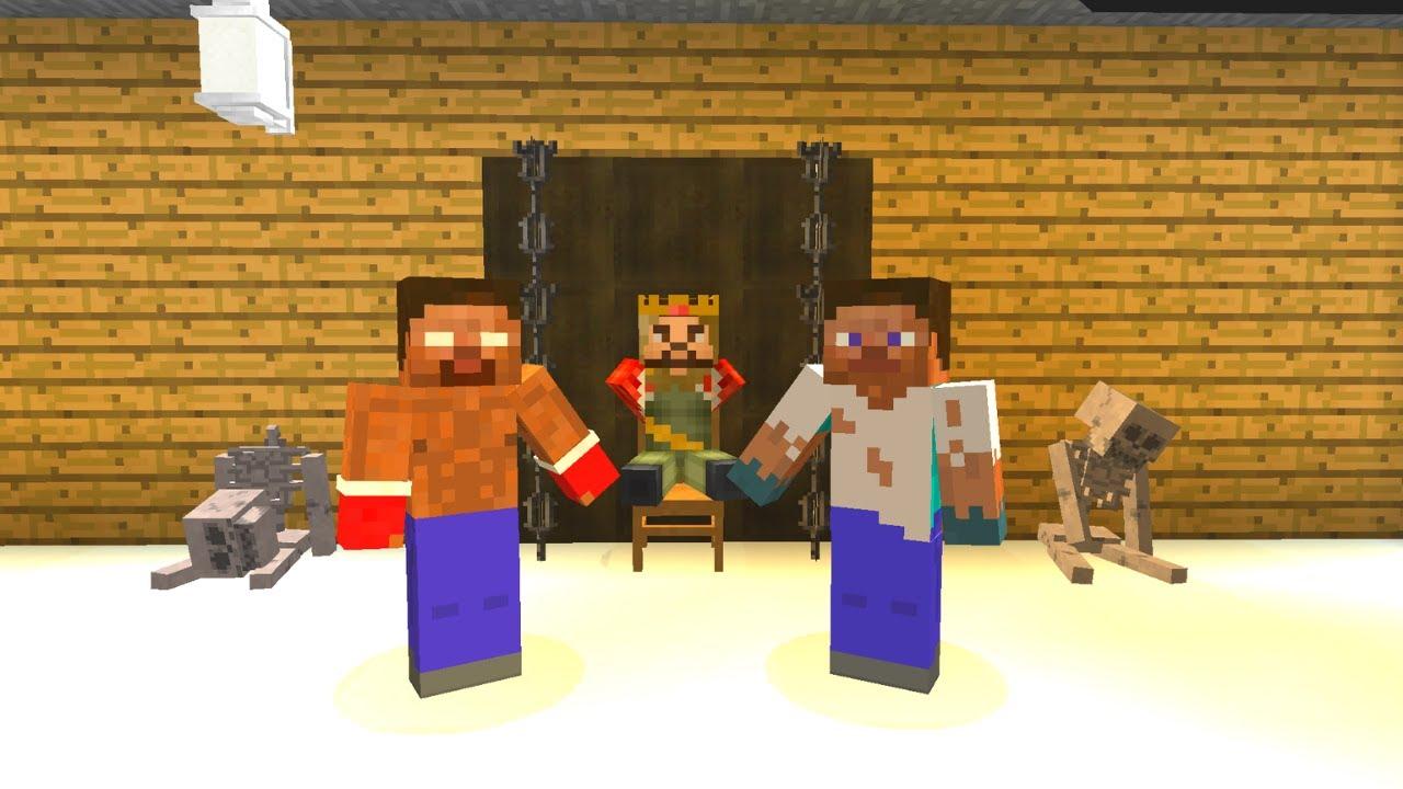 FAKİR VE HEROBRİNE ZENGİN'İ SORGULADI! - 😱 - Minecraft