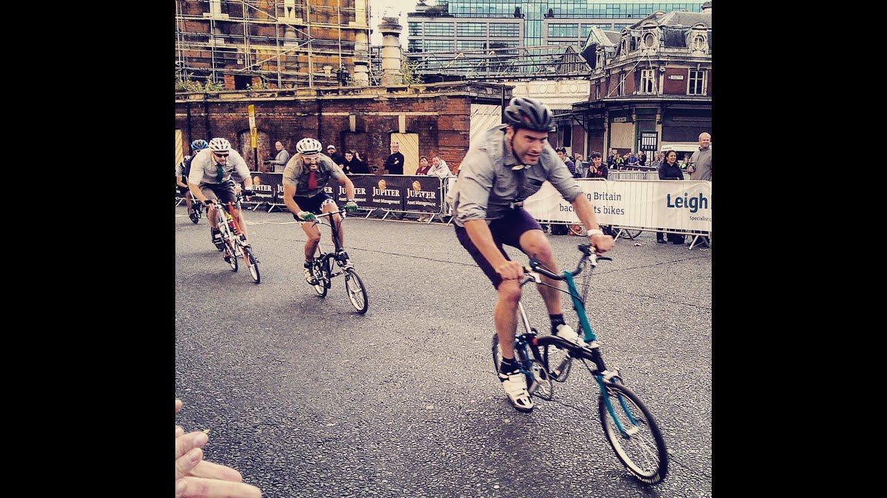 Folding Bike Final At The London Jupiter Nocturne Race June 6th